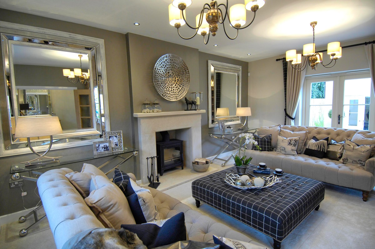 Various projects - Silver living room designs ...