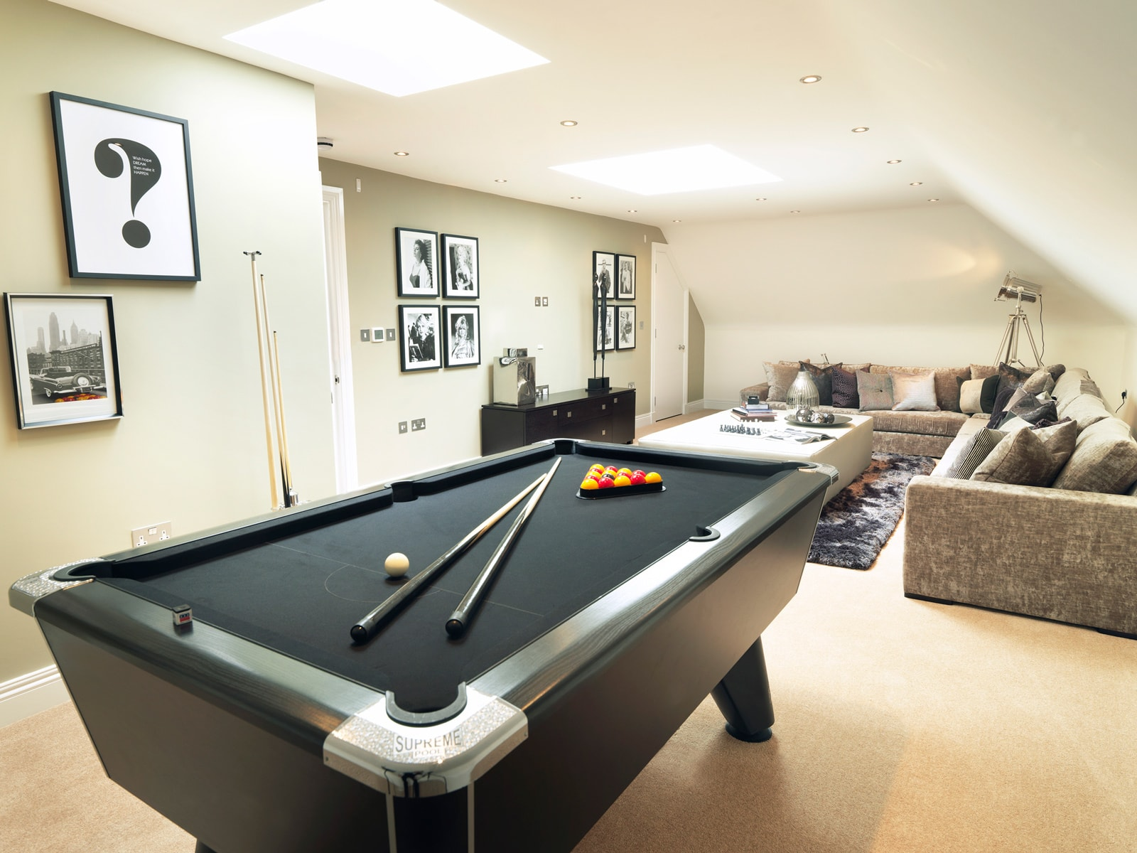 Five Bed Cobham Home Games Room