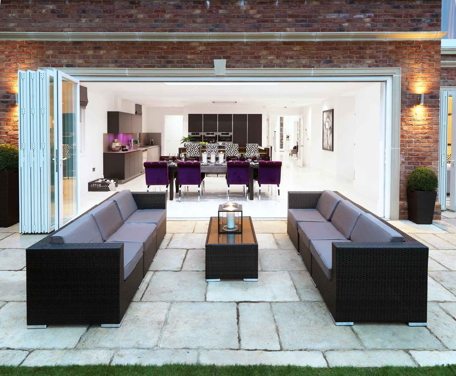 Five Bed Cobham Home Patio Side Lounge