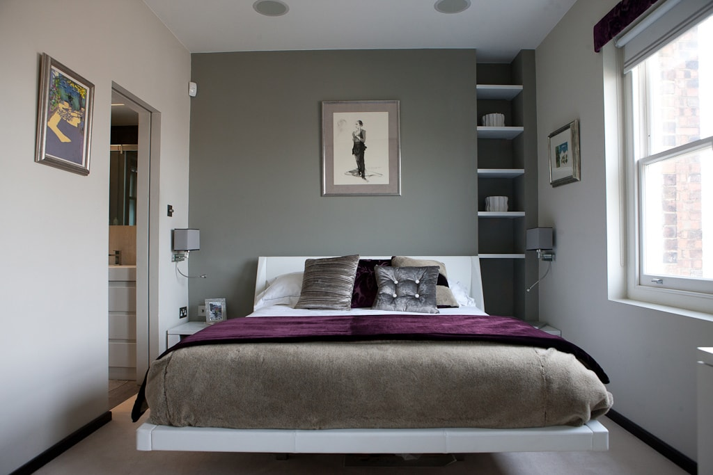 Maida Vale Penthouse Bedroom