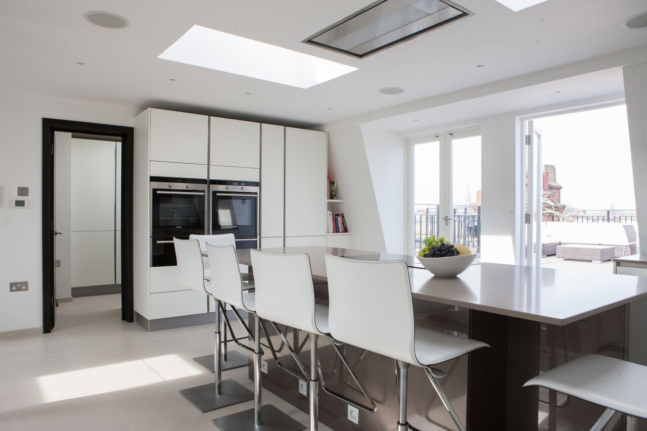 Maida Vale Penthouse Kitchen