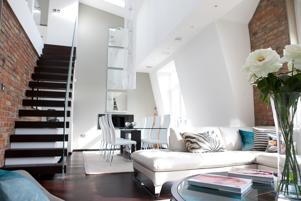 Maida Vale Penthouse Living Room